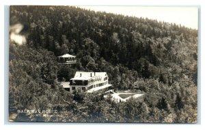 Postcard Halfway House, Mt Monadnock NH RPPC Y65