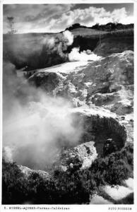 11494 Azores Sao  Migue Furnas 1950's   Caldeira