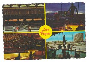 MGM Grand Hotel Las Vegas Nevada Multiview 4X6 Chrome