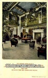The Louis XVI Grand Salon Restaurant, New York City, NYC Postcard Post Card U...