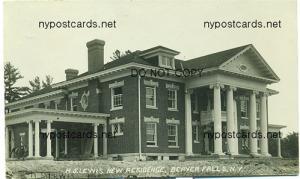 RPPC, H.S.Lewis Residence, Beaver Falls NY