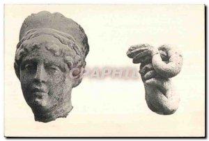 Postcard Old excavations of Alesia toites instead said Cross St Charles