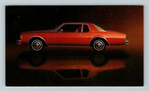 1977 Chevrolet Impala Coupe Chrome Postcard
