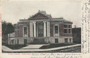 RIPON , Wisconsin, 1907 ; Public Library