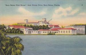 Florida Boca Raton Boca Raton Club House From Ocean Drive