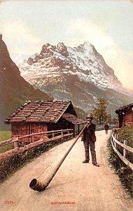Alphornblaser Switzerland Unused