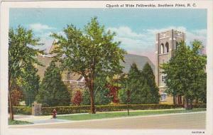 Church Of Wide Fellowship Southern Pines North Carolina 1943