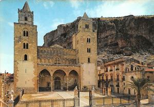 Italy Old Vintage Antique Post Card The Cathedral Cefalu Unused