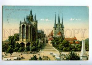 155973 GERMANY ERFURT St.Severikirche Vintage RPPC