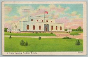 Fort Knox Kentucky~US Gold Depository~Vintage Postcard