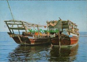 Bahrain Postcard - Boats - Dhow RR10673