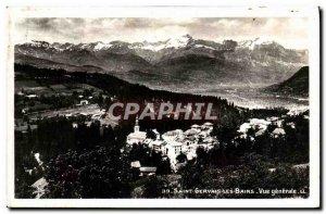 Old Postcard Saint Gervais Les Bains Vue Generale