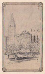 Ohio Cleveland Hotel Cleveland 1937