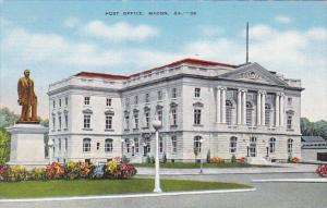 Post Office, Wadley Monument, MACON, Georgia, 30-40´s