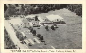 Scituate RI Chopmist Hill Inn Victory HWY Postcard