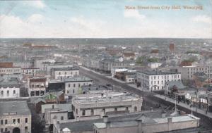 WINNIPEG , Manitoba , Canada , 00-10s ; Main Street from City Hall