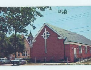 Pre-1980 CHURCH SCENE Rehoboth Beach Delaware DE AD0617