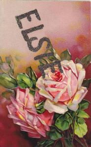 Pink Rose ,ELSIE name , 00-10s