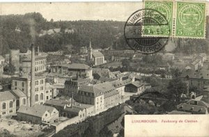 CPA Luxembourg, Fauburg de Clausen (30431)