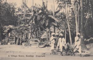 BOMBAY , India , 00-10s ; A Village Scene