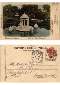 CPA AK Riviera di GENOVA PEGLI Villa Pallavicini ITALY (532163)