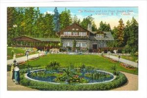 The Pavilion & Lily Pond, Stanley Park, Vancouver, B.C., Canada, 1900-1910s