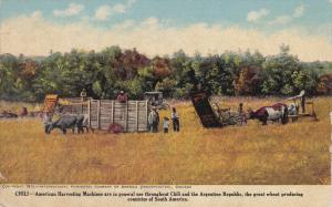 CHILE, 1900-1910's; American Harvesting Machines