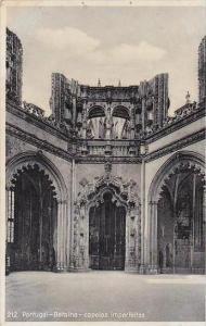 Portugal Batalha capelas imperfeitas