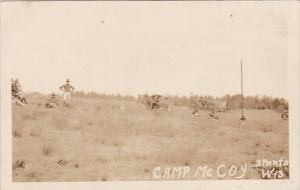 Camp Mccoy Sparta Wisconsin Real Photo