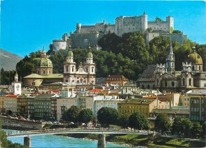 Postcard Austria Salzburg