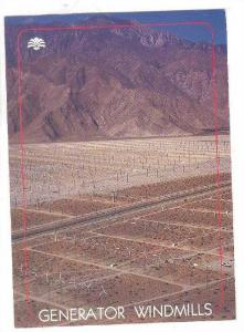 Windmill power generators, Palm Springs , California , 1990s