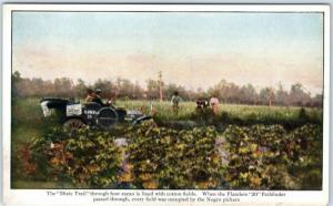 Vintage FLANDERS AUTOMOBILE COMPANY Advertising Postcard 1911 Glidden Tour