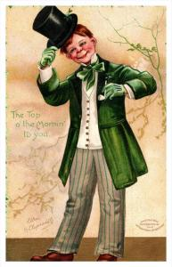 13281  St.Patrick's Day  Clapsaddle Gentleman