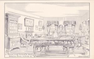 AS: Edward Goodall, Colonial Living Room , Helmcken Hou , B.C. , Canada , 30-40s