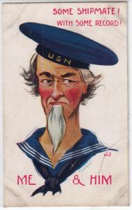 Patriotic - Some Shipmate ! with some Record by Wall
