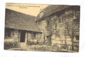 Interieur Du Couvent De La Grande-Chartreuse, Une Cellule, Chartreuse (Isere)...