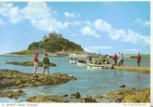 Cornwall Postcard - St Michael's Mount - Ref TZ5136