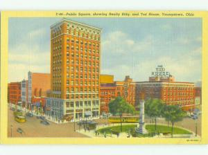 Linen REALTY BUILDING & TODD HOUSE HOTEL Youngstown Ohio OH HQ4089