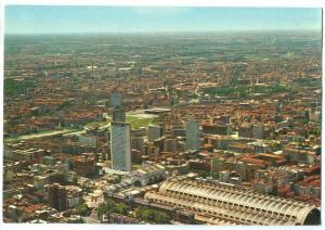 Italy, Milano, Panorama dall'aereo unused Postcard