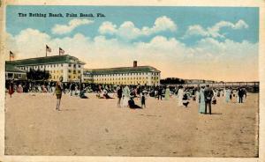 FL - Palm Beach. The Bathing Beach
