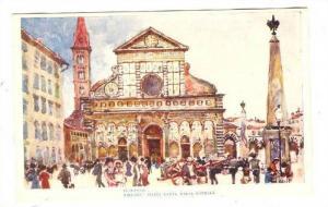 Piazza Santa Maria Novella, Firenze (Tuscany), Italy, 1900-1910s