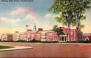 Maine Portland Deering High School