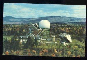 Andover, Maine/ME Postcard, Earth Station, COMSAT/Antenna
