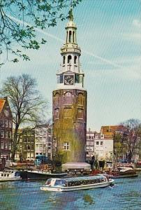 Netherlands Amsterdam Holland Montelbaan Tower