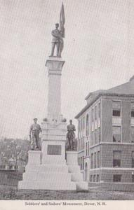 New Hampshire Dover Soldiers and Sailors Monument