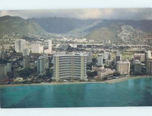 Unused Pre-1980 SHERATON HOTEL Waikiki - Honolulu Hawaii HI c1028