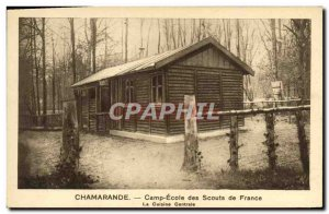 Old Postcard Scout Jamboree Scout Camp School Chamarande Scouts of France's c...