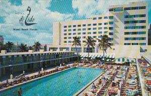 Florida Miami Beach Hotel Di Lido 1958