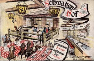 Wisconsin Milwaukee Schwaben Hof German Restaurant