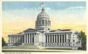 State Capitol Jefferson City MO Unused